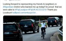 Cái kết bất ngờ cho người phụ nữ khiếm nhã với đoàn xe chở ông Trump