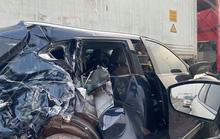 Tai nạn liên hoàn giữa 4 ôtô, cao tốc TP HCM-Long Thành-Dầu Giây kẹt cứng
