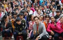 Ngôi sao phim Gia đình là số 1 đưa sân khấu học đường đến Huế