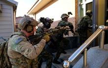 Căng thẳng với Triều Tiên, lính Mỹ - Hàn Quốc diễn tập cận chiến
