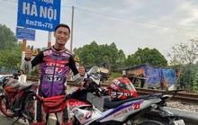 Cục CSGT phạt phượt thủ nổ chạy xe máy từ TP HCM tới Hà Nội 19 giờ 45 phút