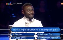 Chương trình Ai là triệu phú nhầm kiến thức về CLB Tottenham?