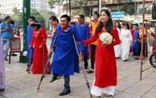 Lễ cưới tập thể cho 50 cặp vợ chồng khuyết tật