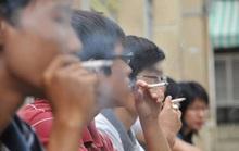 Một làn khói trắng...
