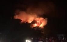 CLIP: Cháy lớn trong phim trường ở TP HCM