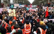Pháp: Giao thông gián đoạn vì đình công