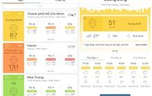 Nha Trang có chất lượng không khí rất tốt so với nhiều khu vực