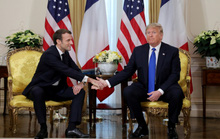 Hai ông Trump và Macron đốp chát chưa từng có về NATO