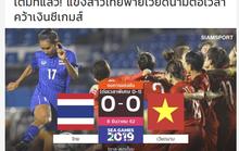 Báo chí Thái Lan: Tuyển nữ Thái suýt vô địch!