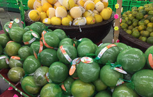 Thịt cá, trái cây Tết đầy chợ