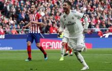 Bale ghi bàn thứ 100, Real đại thắng derby Madrid