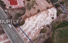 Sa mạc khô nhất thế giới… ngập lụt