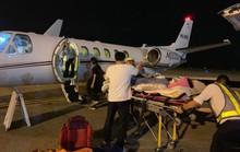 Vụ tạt a xít ở Quảng Ngãi: Dùng chuyên cơ chuyển nạn nhân qua Canada điều trị