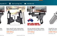 TP HCM đề nghị kiểm tra việc Lazada bán thiết bị lắp ráp súng