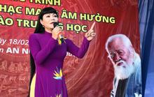 Ngọc Huyền xúc động trong chương trình vinh danh nhạc sĩ Bắc Sơn
