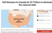 Nợ công cao, hàng ngàn người Mỹ đòi... bán bang Montana cho Canada