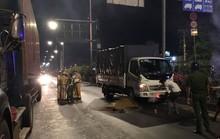 Tông vào xe container, một thanh niên chạy mô tô phân khối lớn thiệt mạng