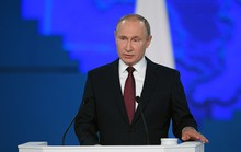 Đọc thông điệp liên bang, ông Putin nhắm thẳng vào Mỹ