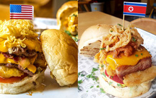 200.000 đồng cho chiếc burger Durty Donald dịp Hội nghị Thượng đỉnh Mỹ-Triều