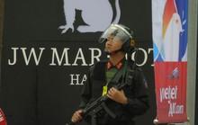 Thắt chặt an ninh khách sạn JW Marriott trước khi Tổng thống Donald Trump tới Hà Nội