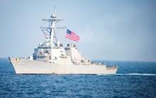 Mỹ đưa tàu qua eo biển Đài Loan, chọc giận Trung Quốc