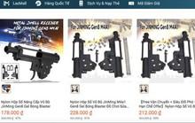 Lập đoàn kiểm tra Lazada về việc bán thiết bị lắp ráp súng