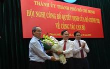 Ông Trần Lưu Quang làm Phó Bí thư Thường trực Thành ủy TP HCM