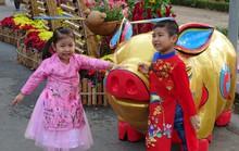 Trụ sở UBND tỉnh Đồng Tháp thân thiện đón khách du Xuân