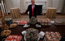 Tổng thống Donald Trump mê thức ăn nhanh và ít tập thể dục