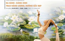"""Yoga giúp """"Da sáng - Dáng xinh, trao năng lượng, dưỡng sắc đẹp"""""""