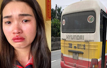 """Vụ xe buýt """"dù"""" giật tóc, đánh chảy máu mũi cô gái: Khởi tố vợ chồng chủ xe"""