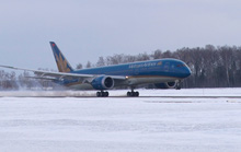 Bay sang Nga: Chuyển giờ bay, sân bay