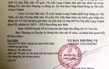 Họp bất thường, cho thôi chức chủ tịch MTTQ đánh phó bí thư, sỉ nhục dân