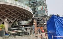 Đập bỏ nhà hàng xây trái phép cạnh cầu sông Hàn - Đà Nẵng