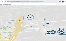 Truy cập 67 bản đồ sân bay trên điện thoại di động