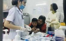Nhiều trẻ em xét nghiệm sán lợn phải nhập viện điều trị