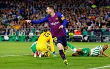 Báo chí trao cúp sớm cho Barcelona, CĐV Betis mừng Messi phá lưới đội nhà