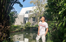 Nhà vườn đẹp như châu Âu của ca sĩ Cao Thái Sơn