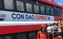 Hành trình Côn Đảo bằng tàu cao tốc 5 sao của cô gái Hà Nội