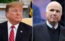 Ông Trump bất ngờ công kích Thượng nghị sĩ McCain quá cố