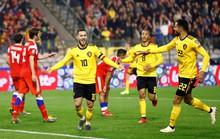 Người nhện Courtois tặng quà, Hazard đòi lại 3 điểm cho Bỉ