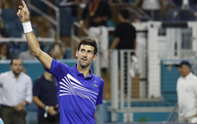 Djokovic thắng trận ra quân, bắt đầu chinh phục danh hiệu thứ 7 tại Miami