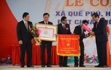 Quê hương Thủ tướng Nguyễn Xuân Phúc đạt chuẩn nông thôn mới