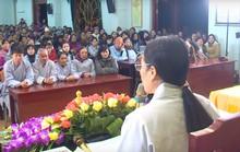 TP Uông Bí họp báo vụ thỉnh oan gia trái chủ tại chùa Ba Vàng