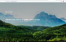 Website chùa Ba Vàng đã phải dừng hoạt động