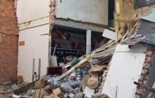Thi công nền móng gây sập nhà, người dân hốt hoảng bỏ chạy ra đường