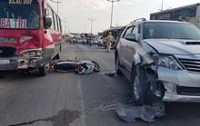 Tai nạn trên đường dẫn cao tốc TP HCM - Trung Lương, 2 cha con thương vong