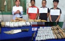 Phá đại án khủng 110.000 viên ma túy, 1 trinh sát biên phòng bị đâm trọng thương
