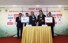 Công bố nhà tài trợ các giải futsal trọng điểm Việt Nam