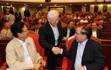 Những hình ảnh Ban Bí thư gặp mặt cán bộ lãnh đạo nghỉ hưu